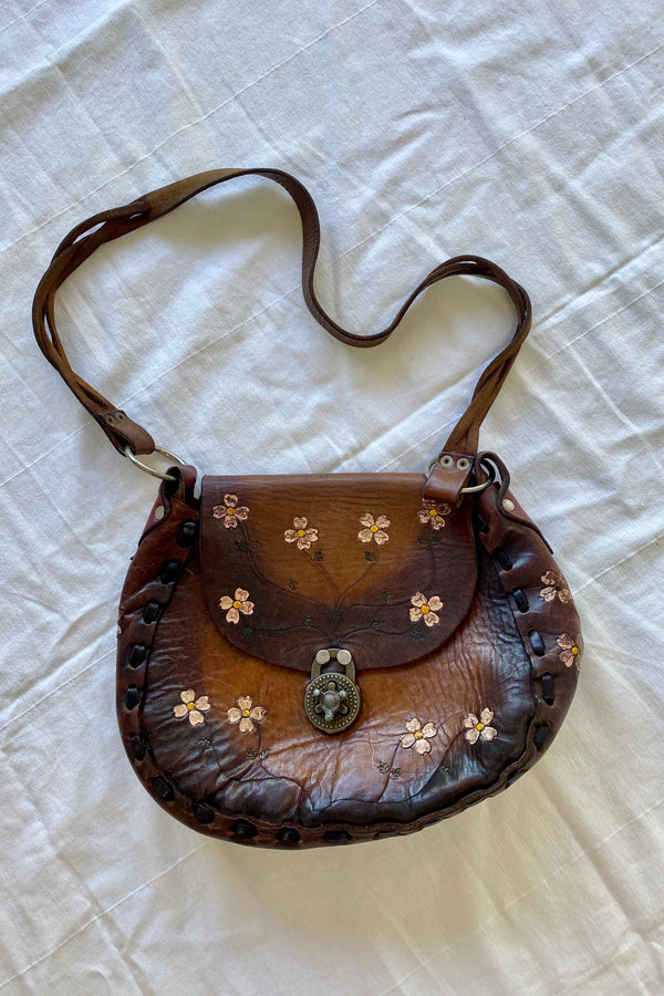 Daisy Vintage Leather Bag