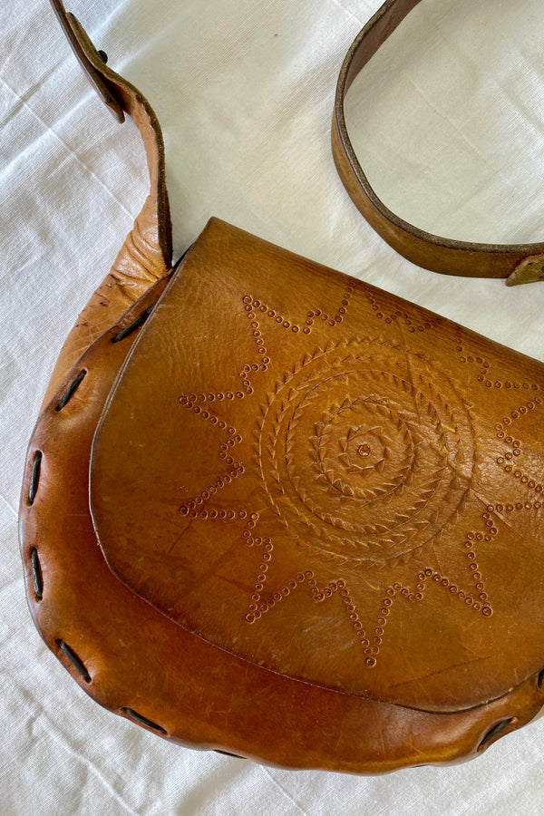Bowie Vintage Leather Bag