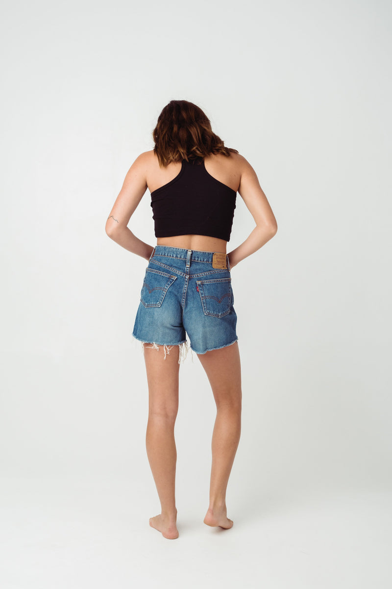 Vintage Levi's 519 Denim Shorts Size 8