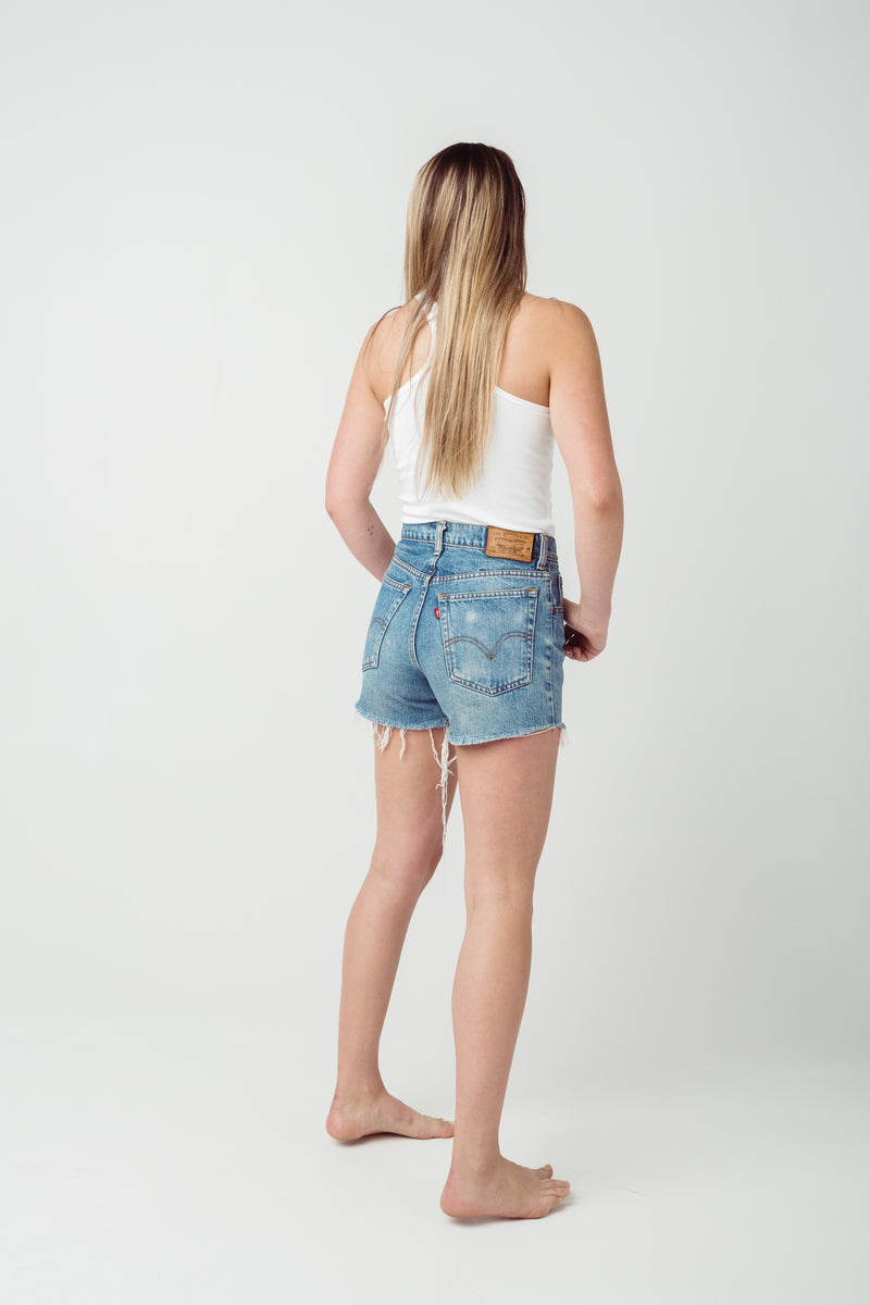 Vintage Levi's 550 Denim Shorts Size 8