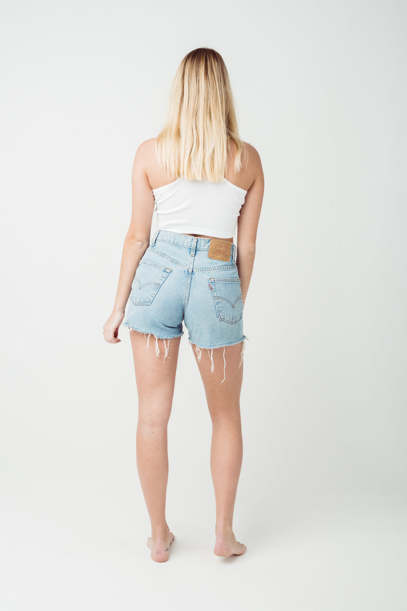 Vintage Levi's 550 Denim Shorts W29