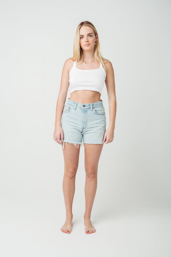 Vintage Levi's 550 Denim Shorts Size 10