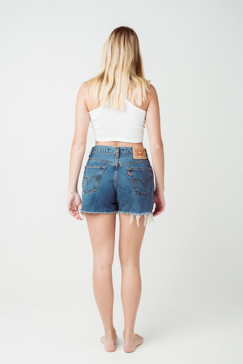 Vintage Levi's 560 Denim Shorts W29