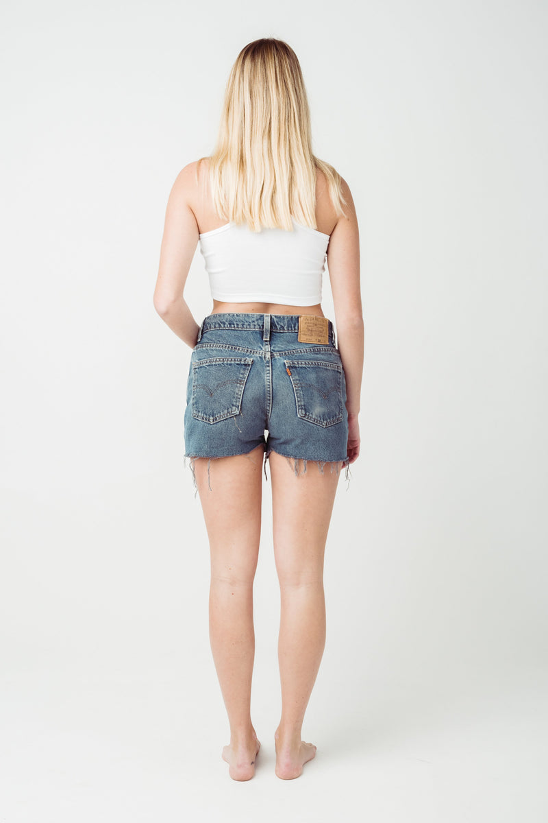 Vintage Levi's 604 Denim Shorts Size 11