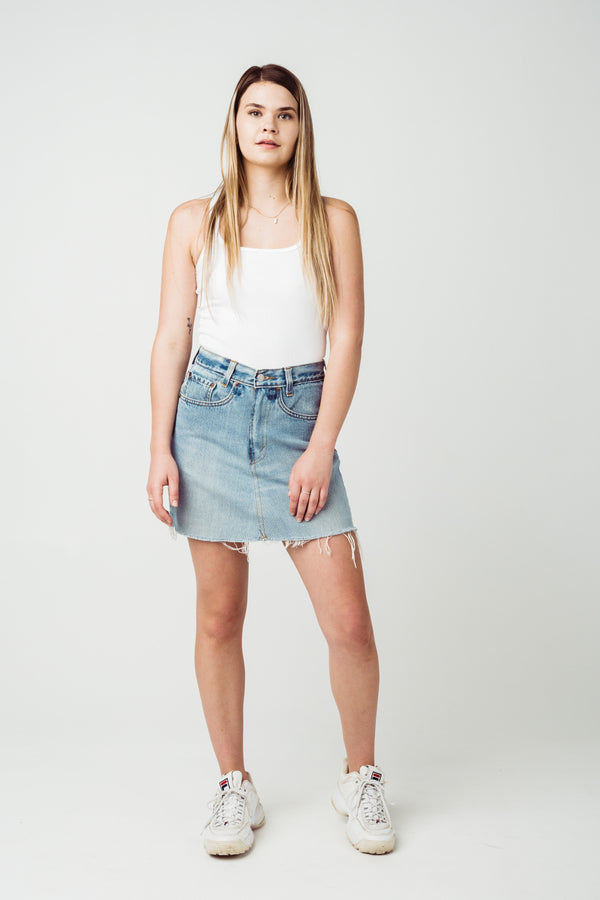 Vintage Levi's 550 Denim Skirt W27