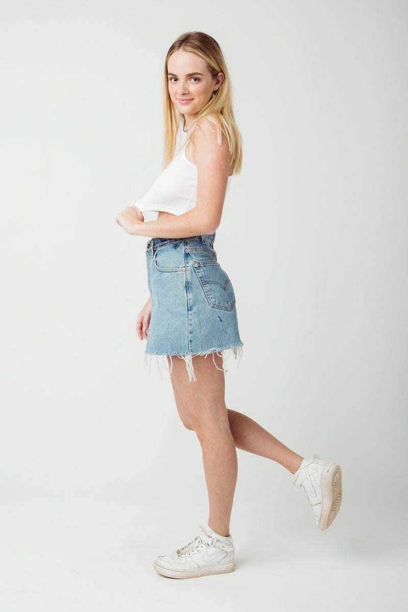 Vintage Levi's 550 Denim Skirt W30