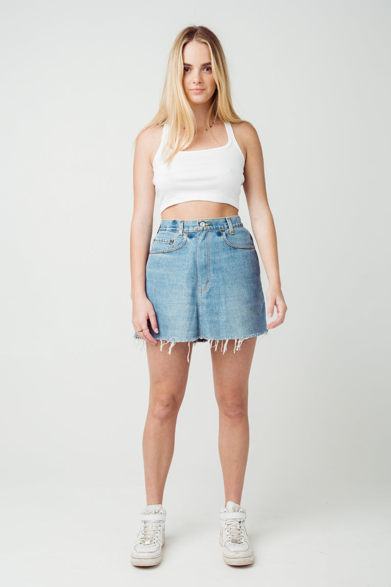 Vintage Levi's 550 Denim Skirt W32