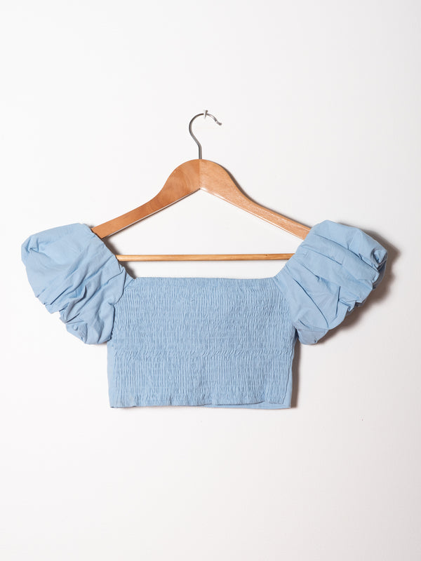 Blue Crop Peasant