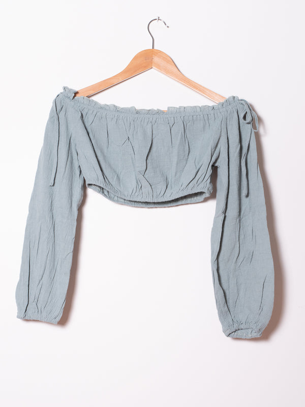 Twin Set  Peasant Crop Top and Pants