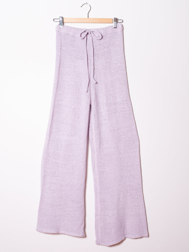 Lilac Twin Set - Top and Pants