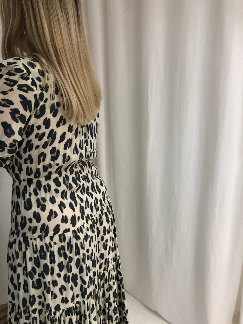 ELMA DRESS - LEOPARD