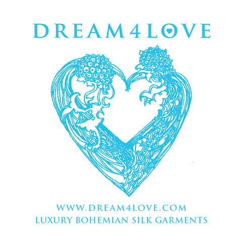 DREAM4LOVE Look-Book (Luxury Bohemian Silk Garments)