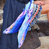 Feather Luxe Silk Scarf | DREAM for LOVE