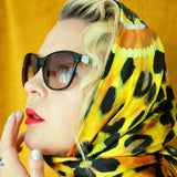 Leopard Luxe Silk Scarf | DREAM for LOVE