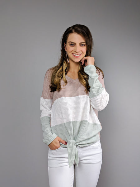 Spring Fever Knit Top