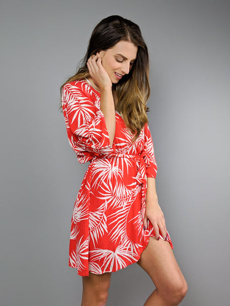 Island Palms Coverup/Dress
