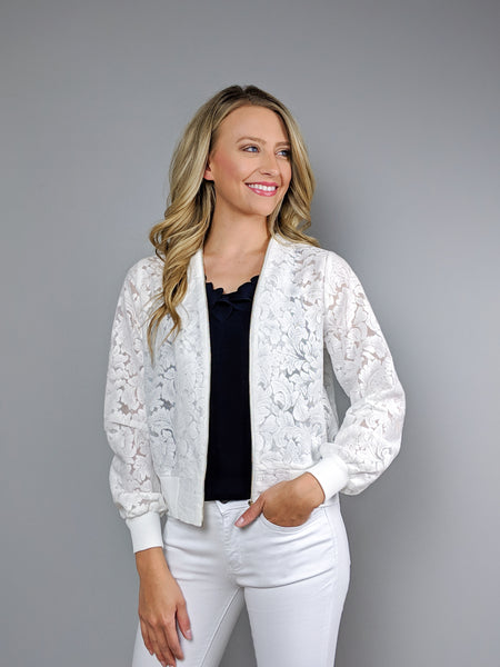 Resort Ready Lace Jacket