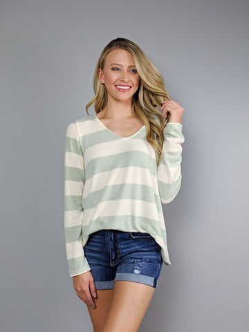 Casual Cutie Long Sleeve Top