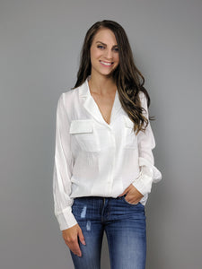 Working Late Long Sleeve Blouse