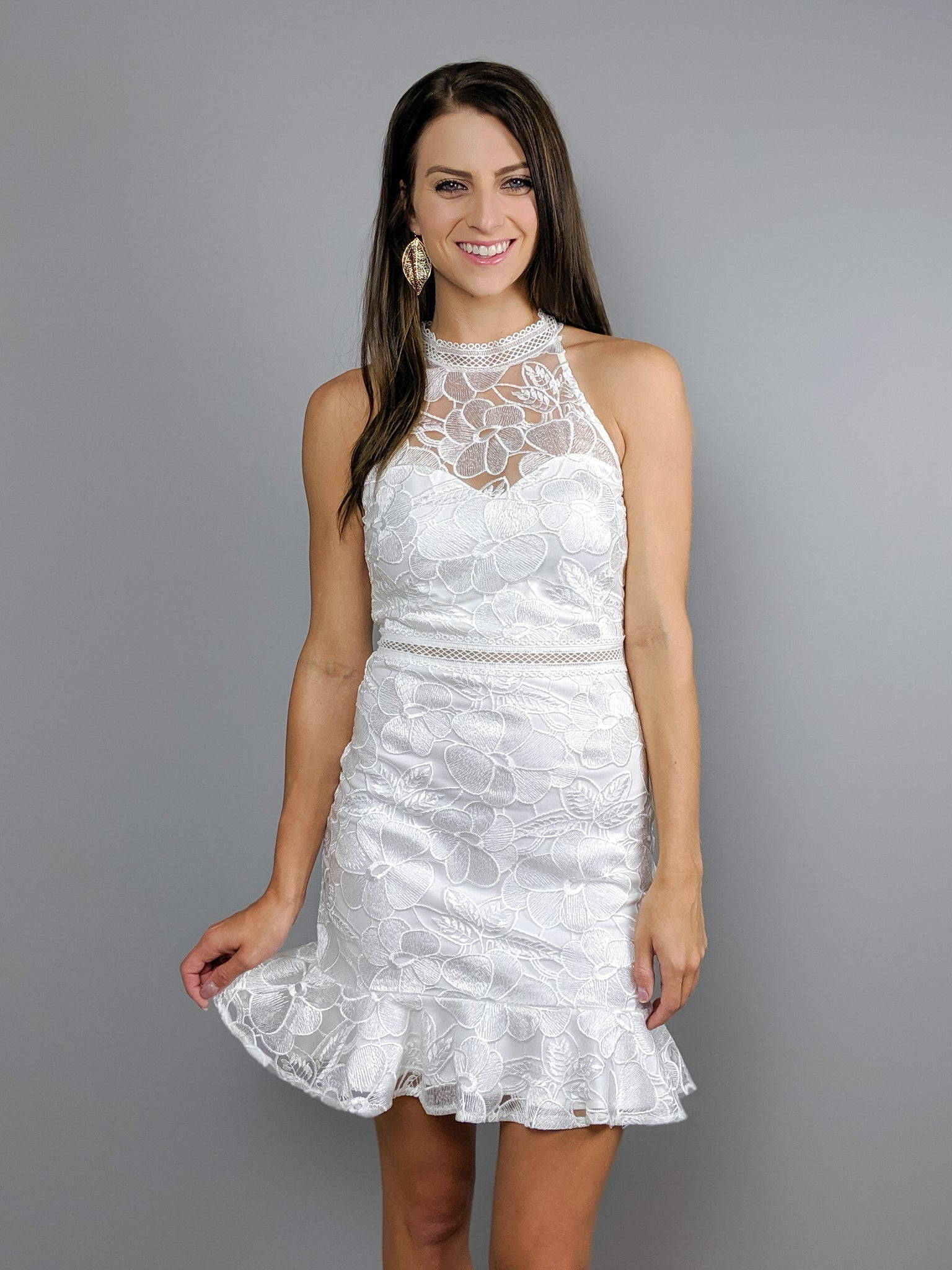 Love Endures Lace Dress