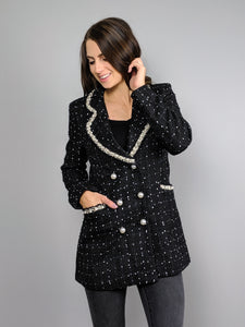 Ready for Royalty Tweed Blazer