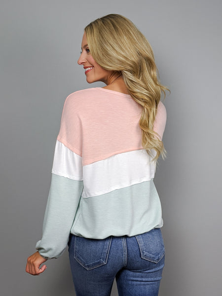 Pretty in Pastel Long Sleeve Top