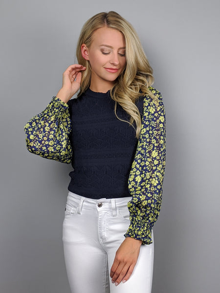 Irish Blooms Blouse