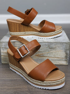 One Step Ahead Wedge Sandal