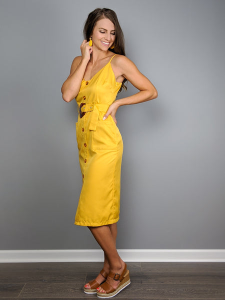 Sunflower Delight Dress