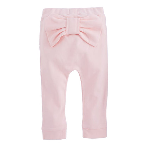 Peek-a-bow Legging -Pink