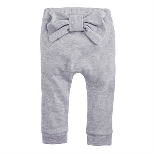 Peek-a-bow Legging -Gray