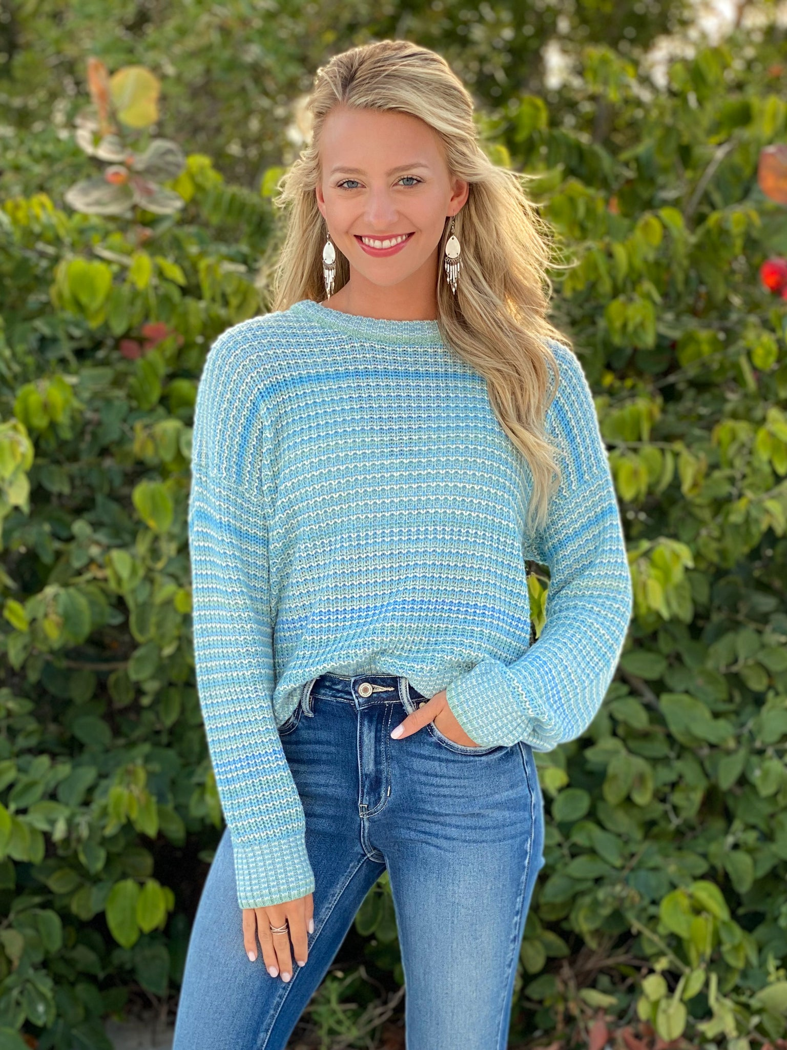 Oceanside View Sweater
