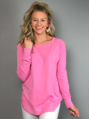 Candy Kisses Sweater -Pink