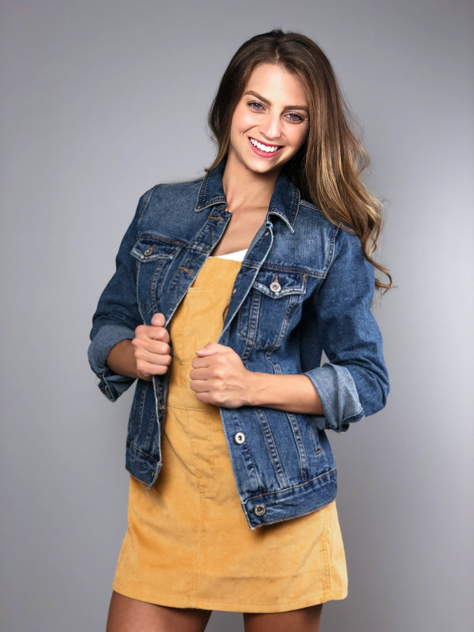 All Day Denim Jacket -Medium Wash