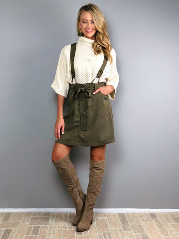 Ivy Charm Overall Skirt