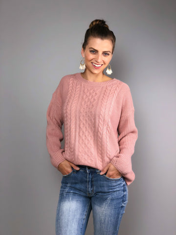 Blushing Roses Sweater