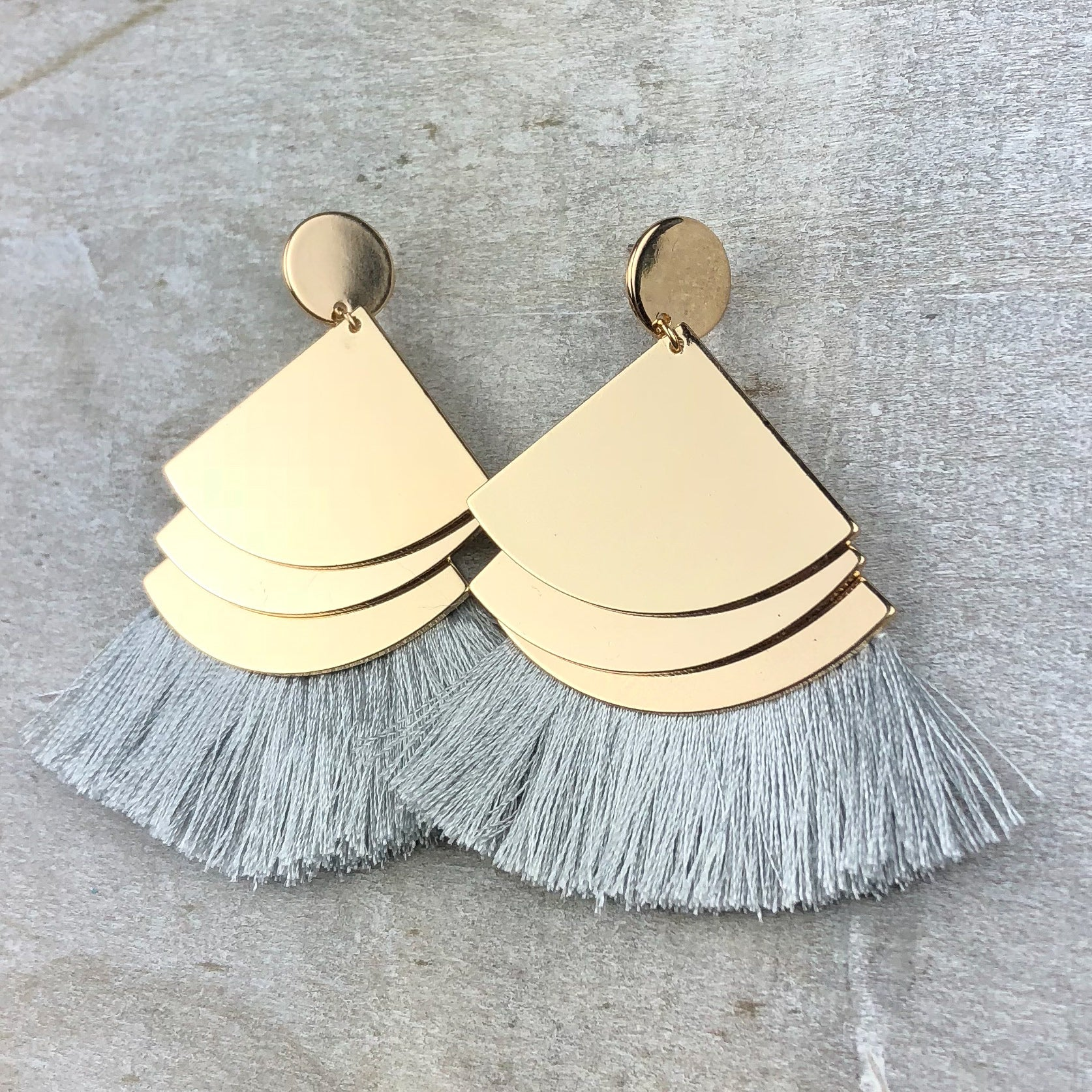 Rise Up Fringe Earring