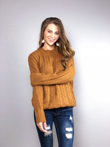 Autumn Spice Sweater