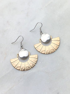 Rays of Sun Earring