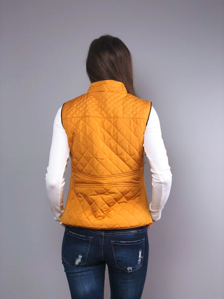 Layer Up Quilted Vest