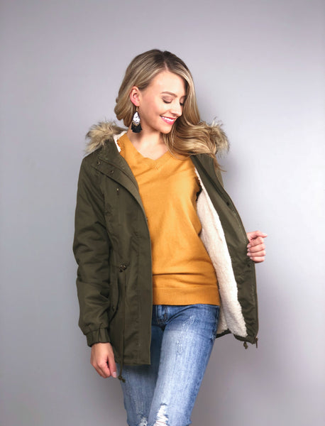 Roam Wild Faux Fur Jacket