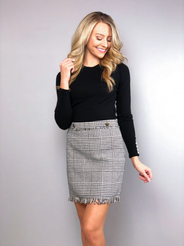 Check Please Skirt