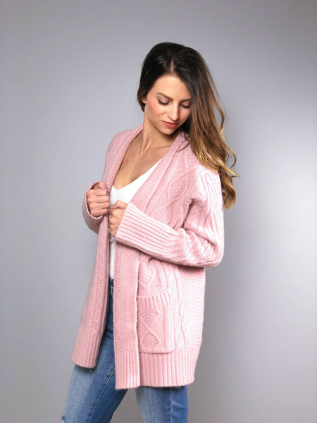 Make it Sweet Cardigan -Blush
