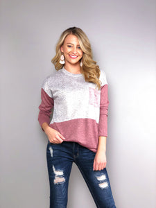 Be Mine Long Sleeve Top