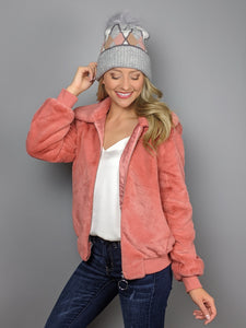 Breckenridge Jacket -Coral