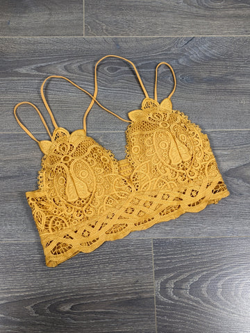 Simply Crochet Bralette -Golden