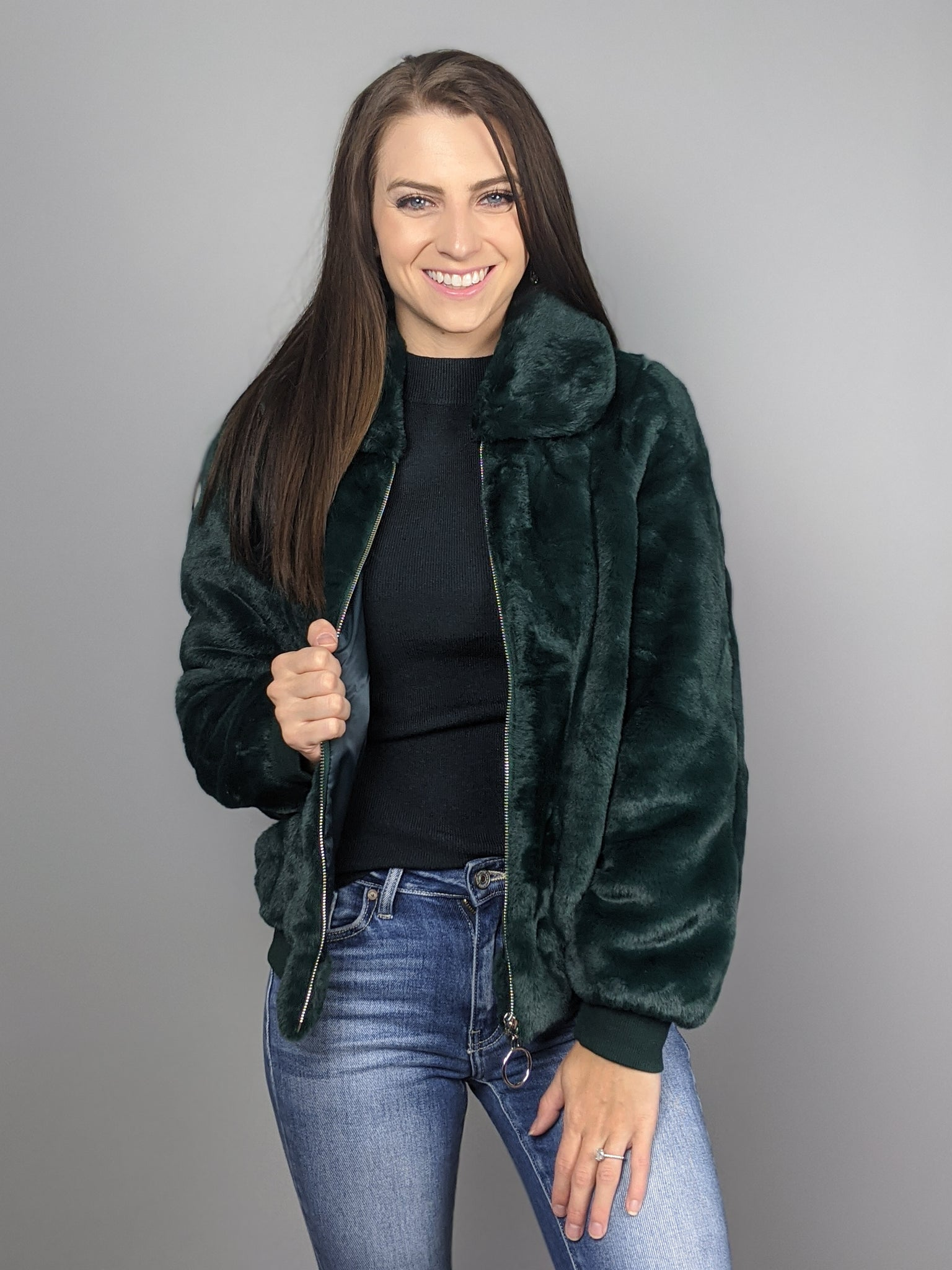 Breckenridge Jacket -Emerald