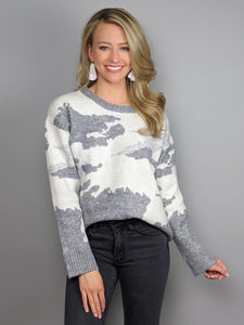 Heathered Hues Sweater