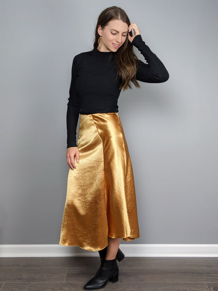 A Champagne Toast Skirt