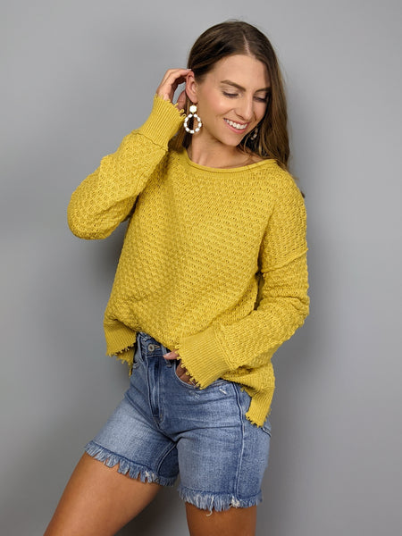 Sweet Honey Sweater